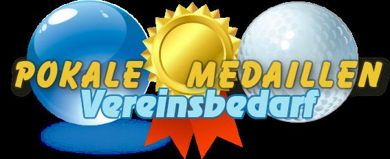Pokale Medaillen Vereinsbedarf-Logo