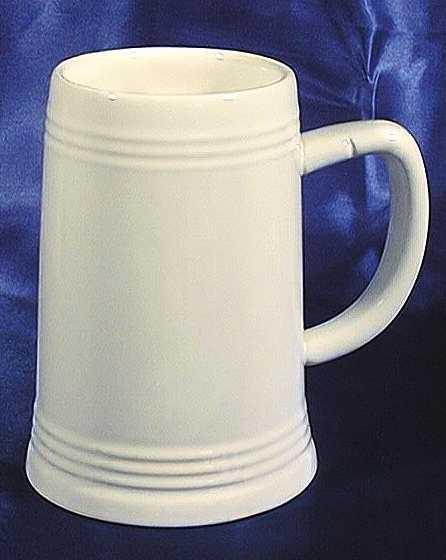pokale medaillen vereinsbedarf art 231 keramik bierkrug in wei 0 5l. Black Bedroom Furniture Sets. Home Design Ideas